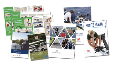 A selection of British Rowing publications
