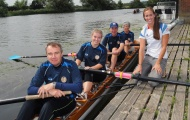 Helen Glover at Goring Gap BC's 'Join In' morning