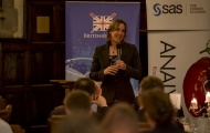 Katherine Grainger address the SSM Conference delegates