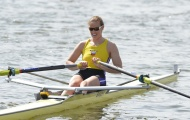 Helen Glover (pictured last year) produced a debut win today in Boston, Lincs