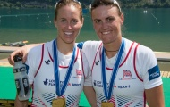 Helen Glover (left) and Heather Stanning