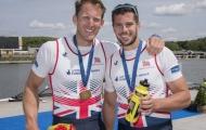 The men's pair of Matt Langridge and James Foad