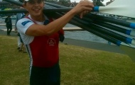 Zak Lee-Green after his race at Henley on Thursday