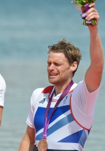This is what it means to win an Olympic medal - Alan Campbell wins bronze in the men's single scull at London 2012