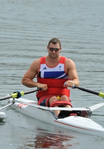 Tom Aggar - Out to defend his Paralympic title in the men's single scull