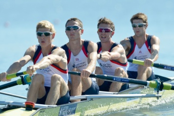 From Italian job to Boston trial - Sam Scrimgeour (far right) and Jonathan Clegg (far left) will race at the first GB assessment