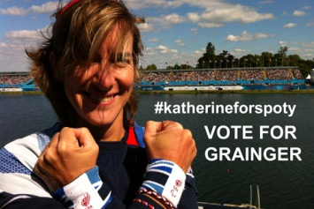 Katherine back at Eton Dorney cheering on the Paralympic rowers