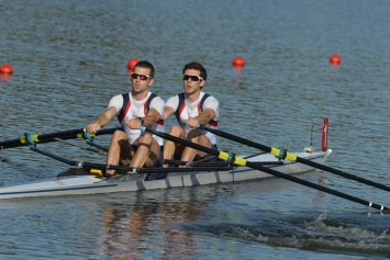 Gold for Chambers and Freeman Pask - the latter's first in an Olympic boat class