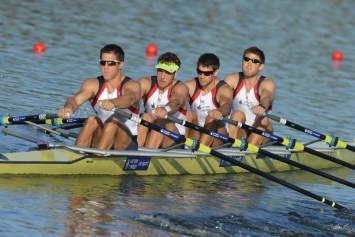 Historic gold for men's quad