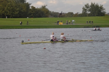 Vicky Thornley (left) and Jess Leyden impressed