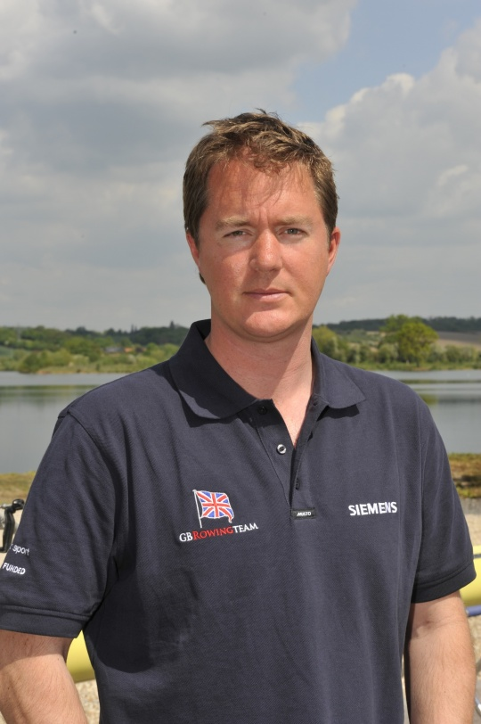 Helen Glover and Heather Stanning's first rowing coach - Paul Stannard