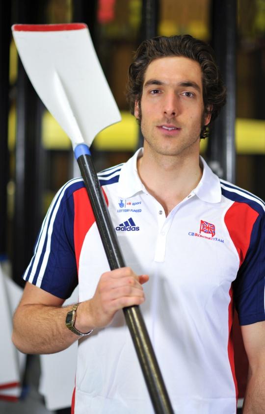 Charles Cousins won the single scull to break Campbell's winning streak