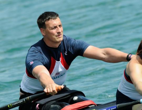 Captain Nick Beighton came through a talent id scheme into rowing