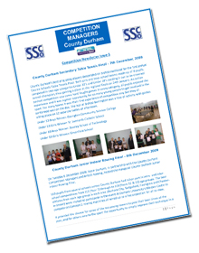 County Durham Competition Newsletter