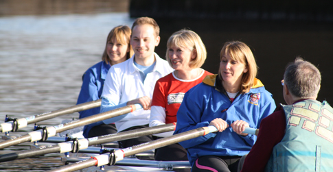 Explore Rowing boats launched at Warrington Rowing Club