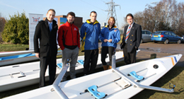 New stable boats launched at Warrington Rowing Club