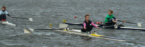 Single scullers J16 Camp