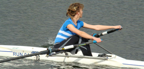 Junior Sculler Holme Pierrepont