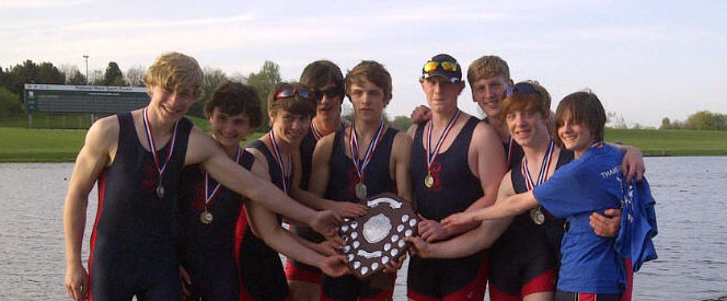 Junior Men's 8 Winners