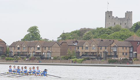 Image promoting Medway Boat Race