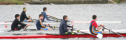 Doubles start at NRC Regatta