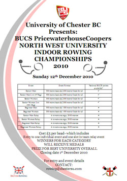 Link to North West Indoor Rowing Championships 2010
