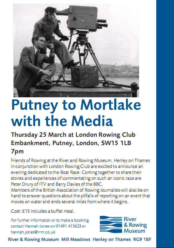 Image of the Putney to Mortlake flyer