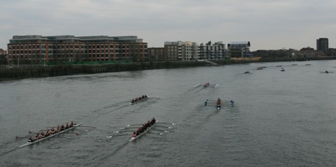 Women's Eights Head of the River 2010