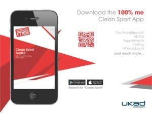 The 100% Me Clean Sport App is available on iTunes and Google Play