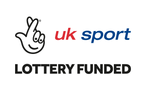 UK Sport Lottery Funded Logo