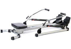 Hydraulic indoor rowing machine