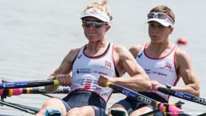 Varese. ITALY. GBR LW2X. Bow. Charlotte TAYLOR and Kat COPELAND