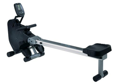 Magnetic resistance indoor rowing machine
