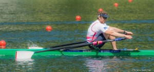 Lucerne, SWITZERLAND. GBR M1X, Alan CAMPBELL