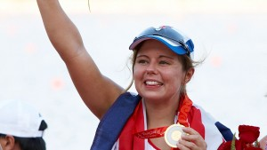 Women's single scull gold medallist 2008 Beijing Paralympics Helene Raynsford