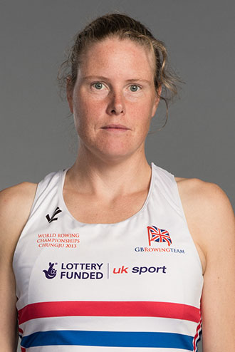 Frances Houghton rowing