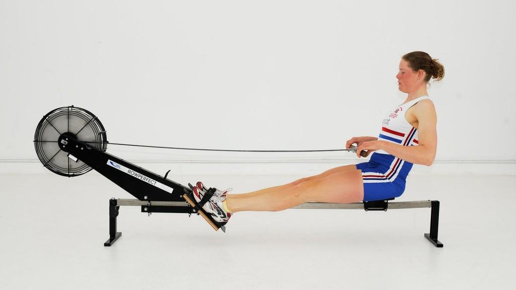 rowing machine technique
