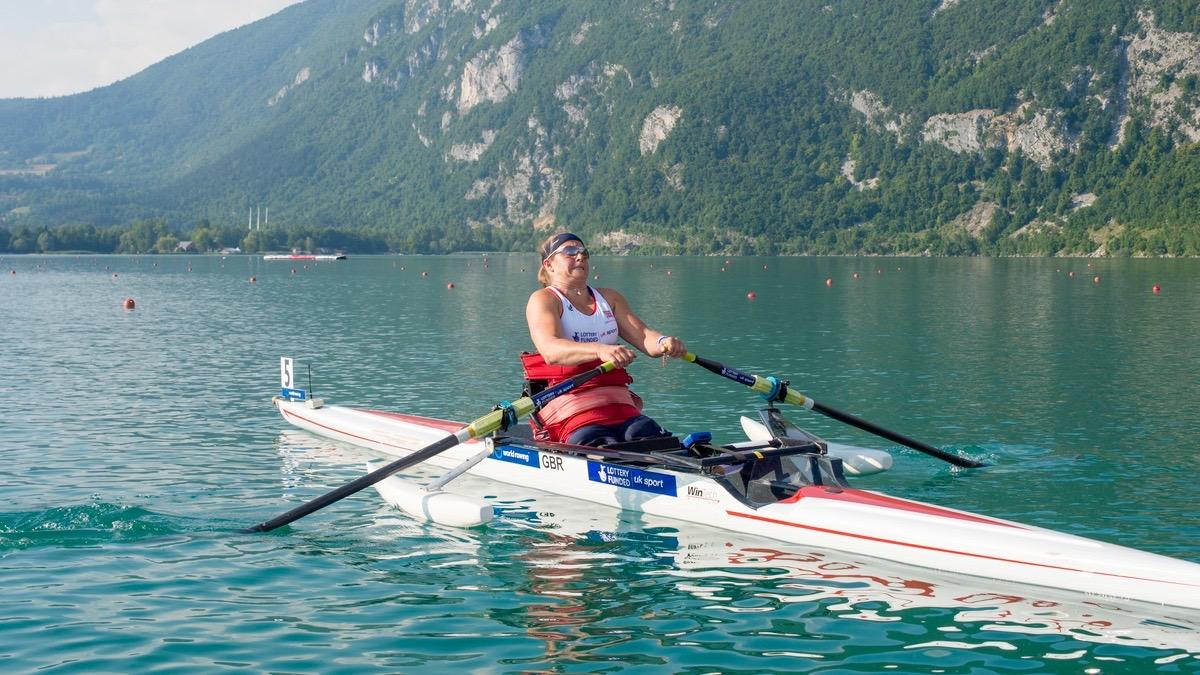 Rachel Morris World Championships 2014