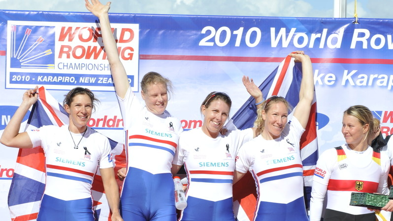 Rodford calls time on rowing career - British Rowing