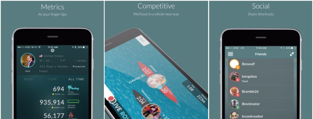 Three of the best indoor rowing apps - British Rowing