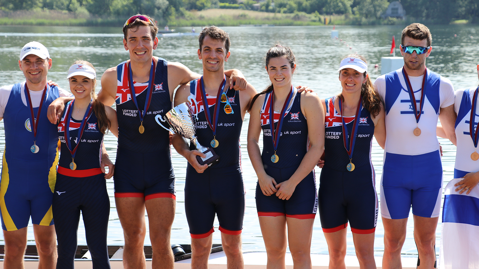 f48787271ec Great Britain rowers were in the medals at the Gavirate International  Regatta this weekend