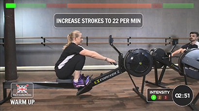Go Row Indoor Workout Video image