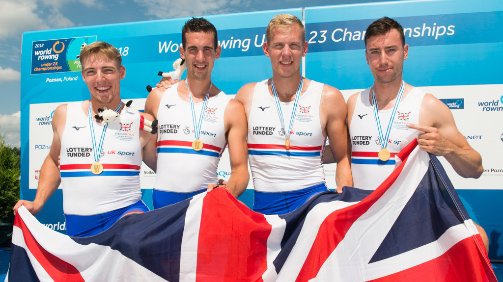 488dbb3c1af Great Britain win eight medals – including three golds – to record their  best ever World Rowing U23 Championships result