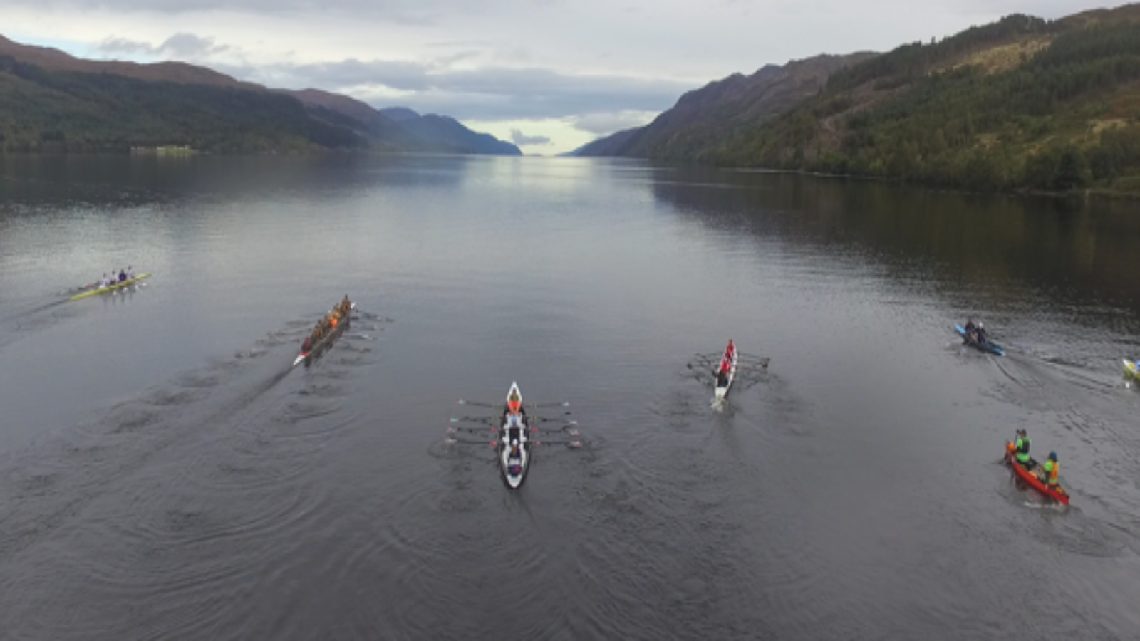 inaugural monster the loch ness endurance row british rowing