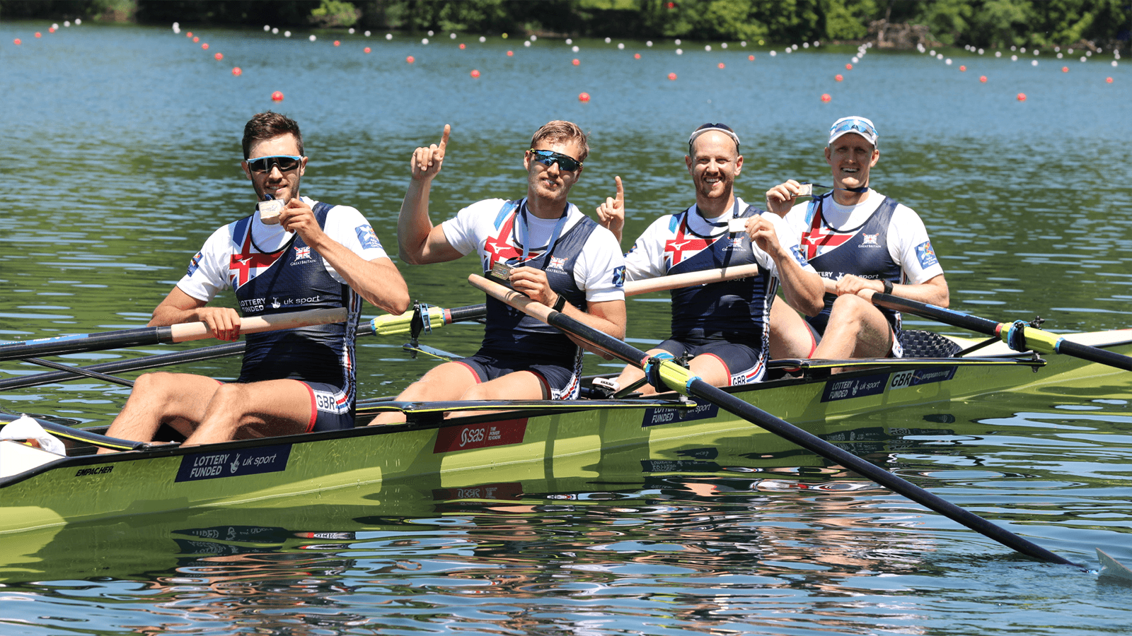 GB men's four. Credit Nick Middleton