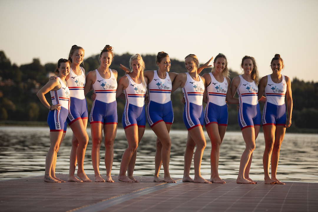 Women's eight for the 2019 World Rowing Championships (Nick Middleton)